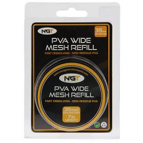 Pva Wide Mesh Refill NGT 35mm 7m