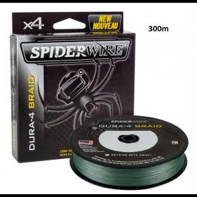 Vrvica Spiderwire Dura-4 Braid Green 0,14-0,30mm 300m