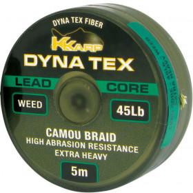 Lead Core KKarp Dyna Tex 5m 45lb- weed