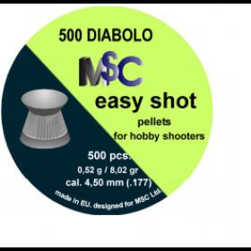 Metki za zračno puško MSC Easy Shot 4,5mm 500kom