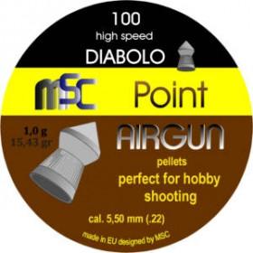 Metki za Zračno puško MSC Point Airgun 5,5mm 100kom