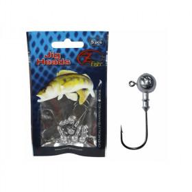 Jig glave Z Fish Jig Head 1-5/0 2-20g /5pcs