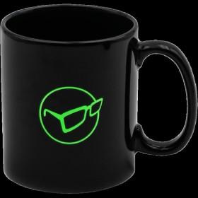 Lonček Korda Mug Glasses Logo Black