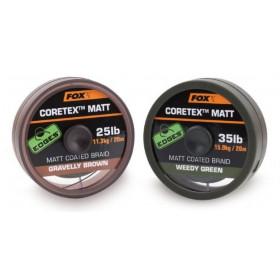 Vrvica Fox Coretex Matt 35LB 20m- izbira