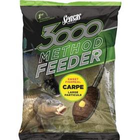 Hrana Sensas 3000 Method Feeder Carpe 1kg