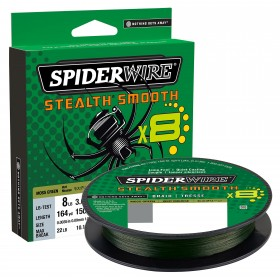 Vrvica Spiderwire Stealth Smooth X8 Green 0,13mm 150m