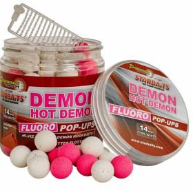 Fluoro Pop Up Starbaits Hot Demon 14mm 80g