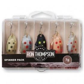 Set blestivk Ron Thompson Spinner Pack 1 7g