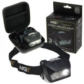 Naglavna svetilka NGT Dynamic CREE Headlight USB