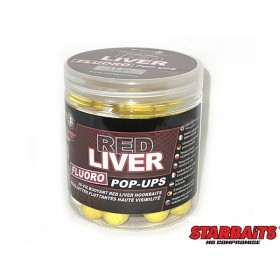Fluoro Pop Up Starbaits Red Liver 14mm 80g