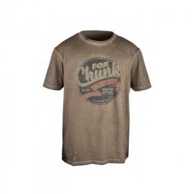 Majica Fox Chunk Stonewash T-Shirt Khaki S