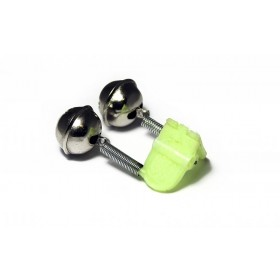 Zvonček za ribolov Zfish Double Bell Clip 2pcs