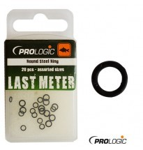 Round Ring Prologic Last Meter 20pcs- assorted sizes