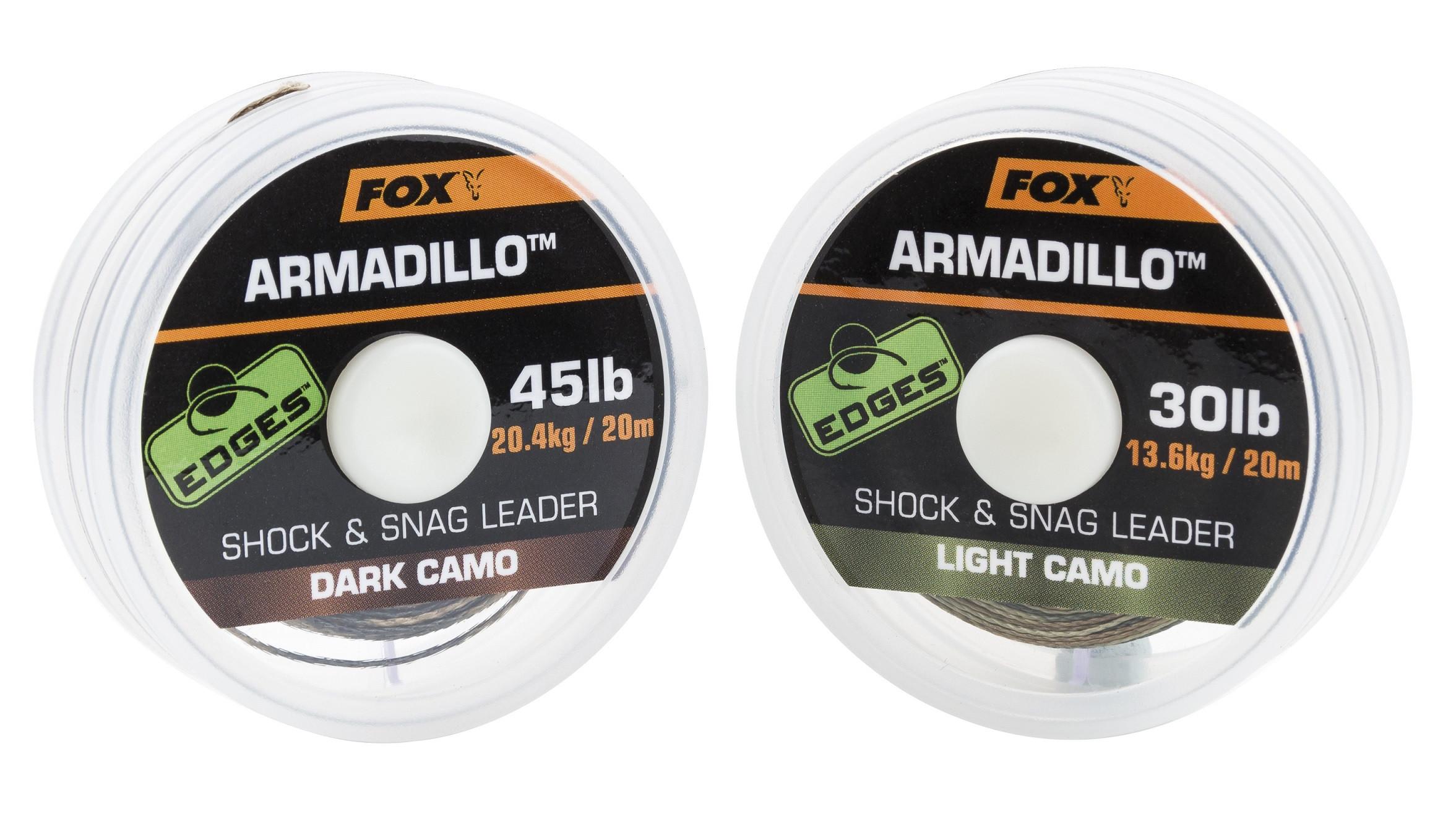 Vrvica Fox Armadillo Shock & Snag Leader 40LB 20m