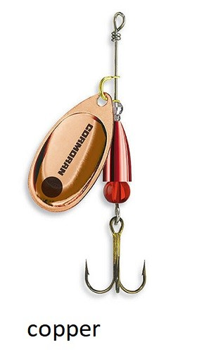 Spinner Cormoran Bullet Long Cast copper št:1-5