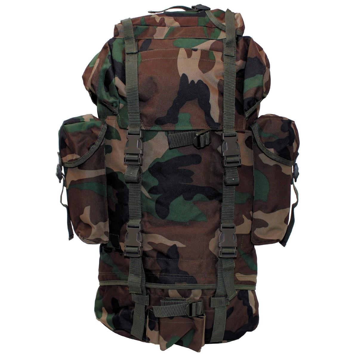Vojaški nahrbtnik MFH BW- woodland 30253T