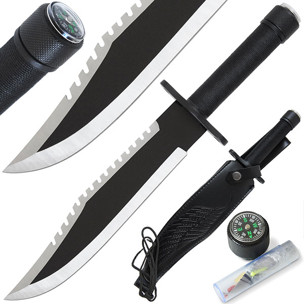 Nož Anglo Arms Rambo Style Survival Knife