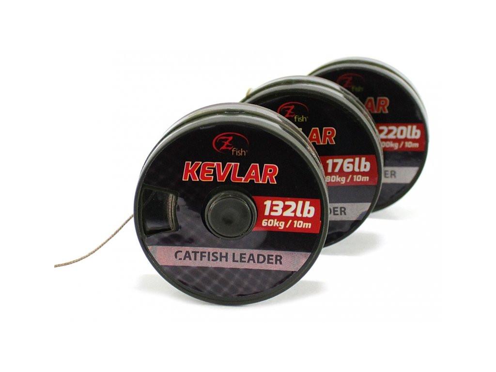 Vrvica Zfish Kevlar Catfish Leader 176lb 10m