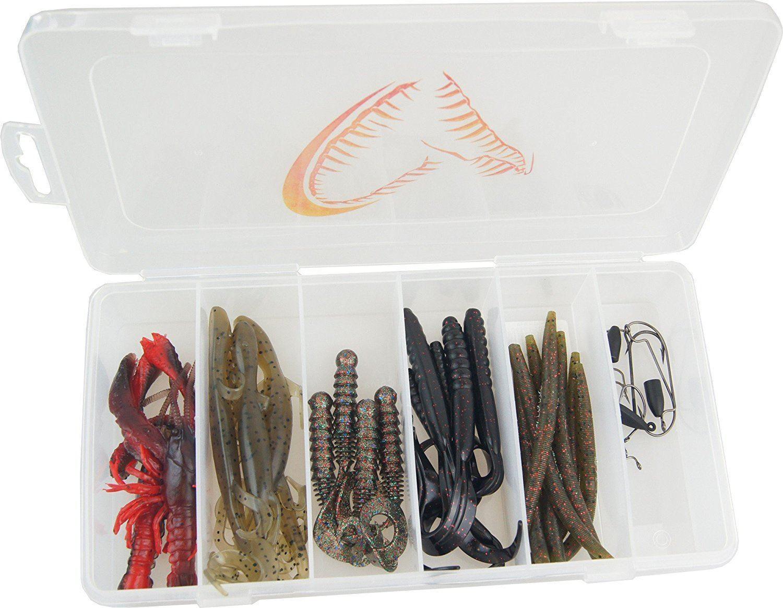Set Savage Gear Black Bass Pro Pack Kit 33kom