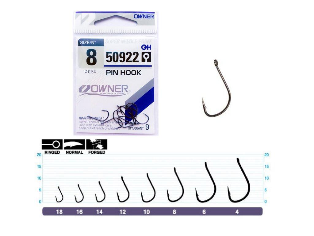 Trnki Owner Pin Hook 50922 Št: 8-10