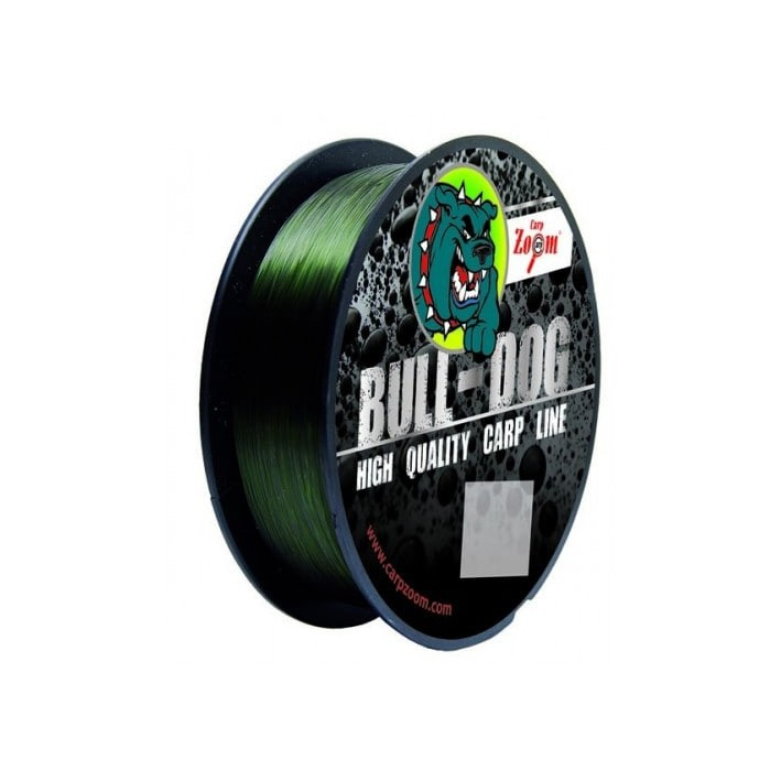 Najlon Carp Zoom Bull-Dog 0,31-0,35mm 300m- green