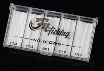 Požirke za plovce Falcon Silicone Tube 0,5-1,5mm