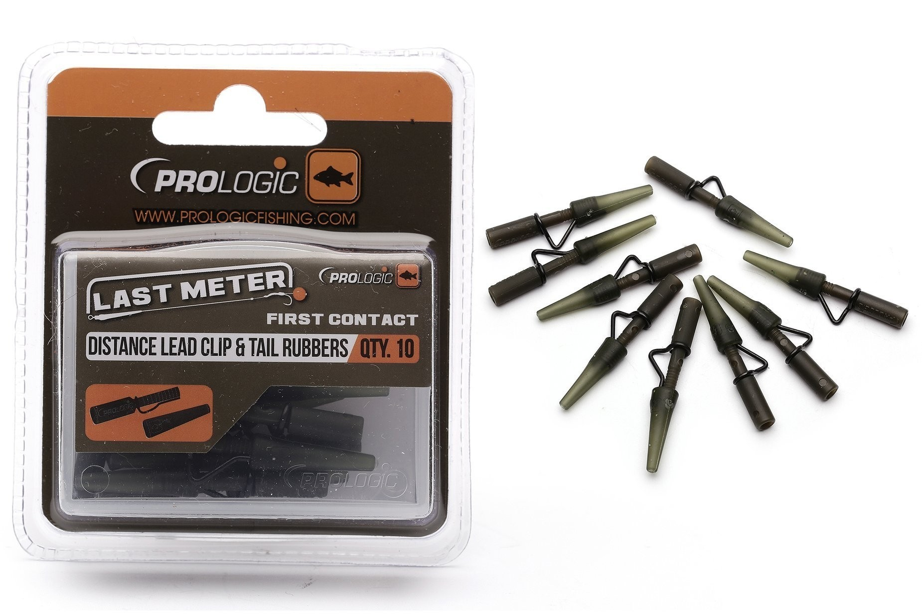Prologic Distance Lead Clip & Tail Rubbers 49887