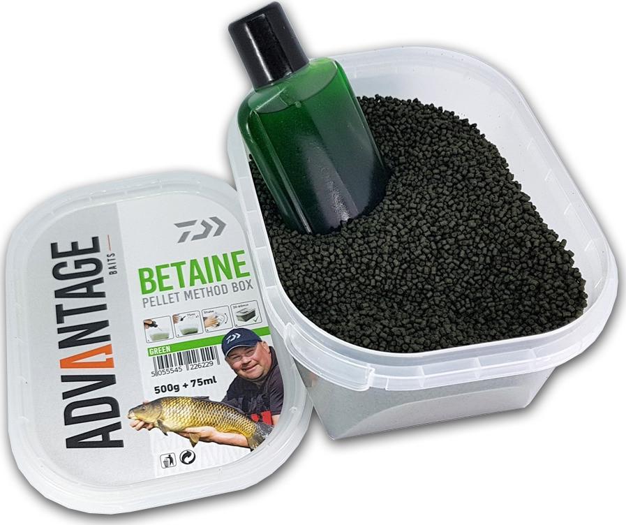 Peleti Daiwa Advantage Baits Betaine Pellet Method Box