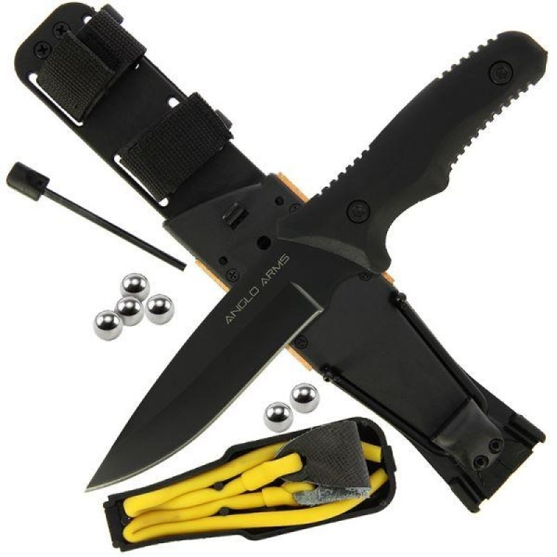 Nož Anglo Arms Knife and Survival Kit 953
