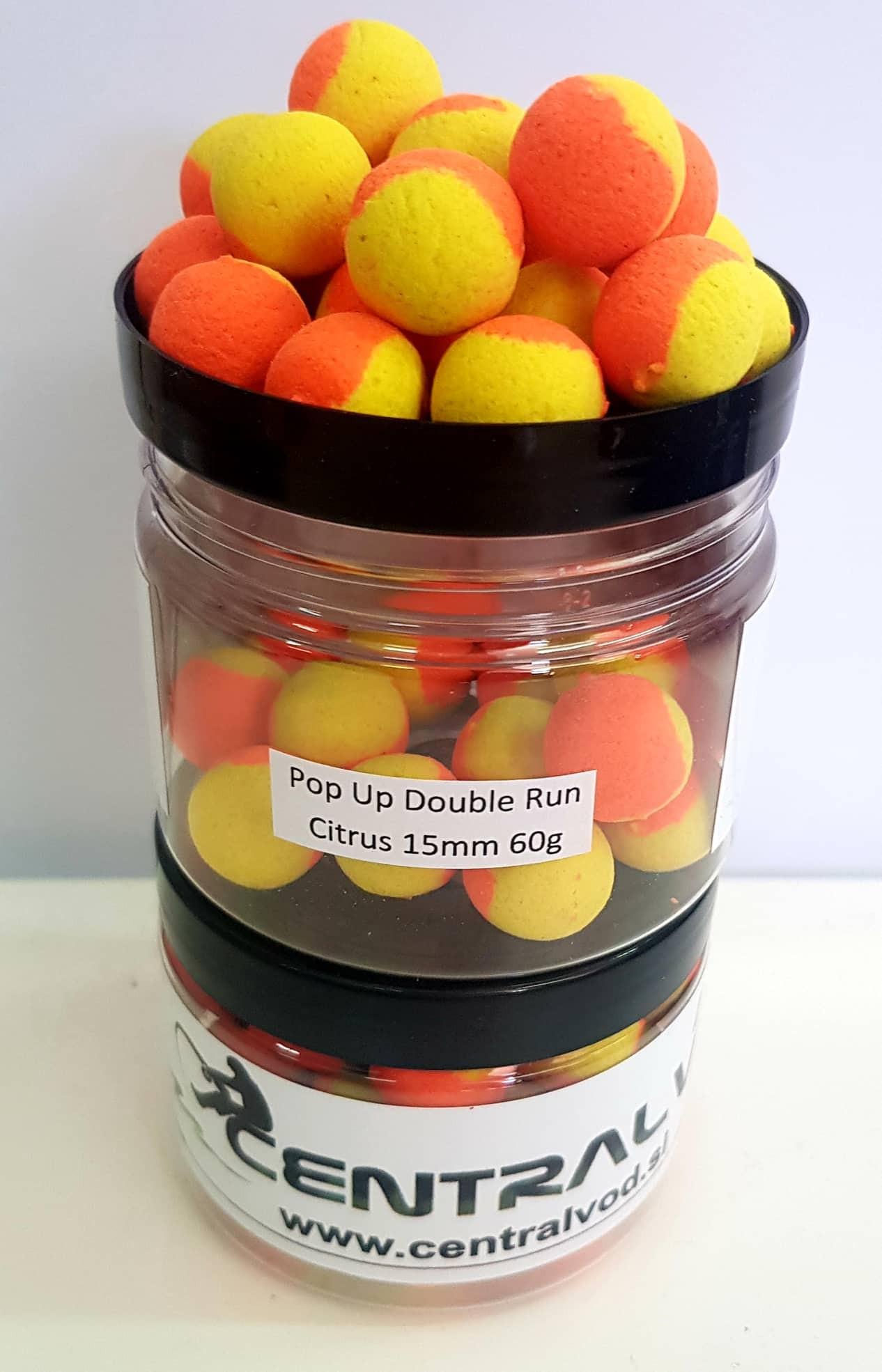 Pop Up Centralvod Baits Double Run Citrus 15mm 60g