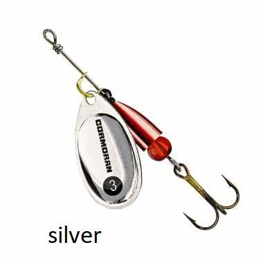 Spinner Cormoran Bullet Long Cast silver št:1-5