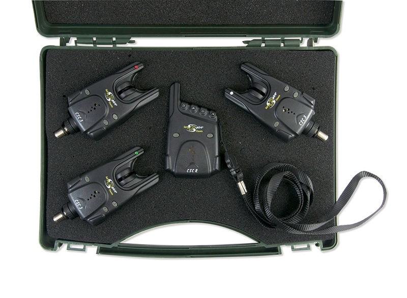 Signalizatorji Carp Spirit CSC 3 3+1