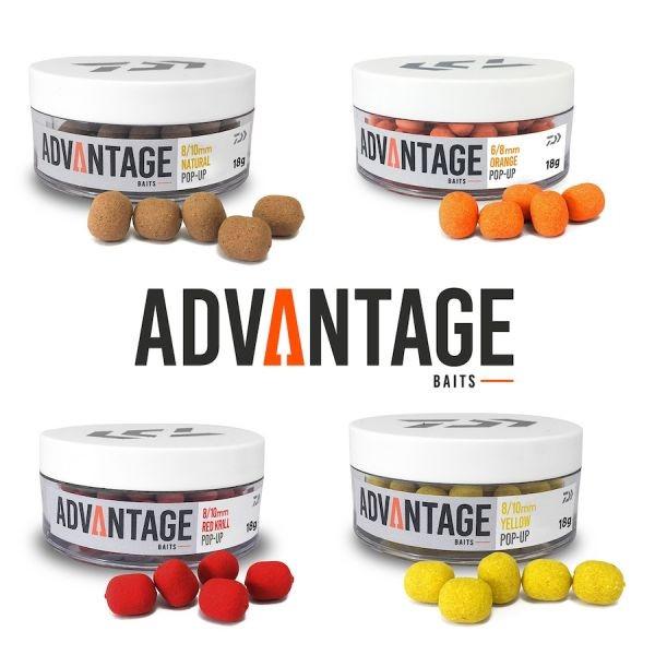 Daiwa Advantage Baits Pop Up 8/10mm- izbira