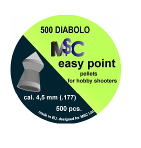 Metki za zračno puško MSC Easy Point 4,5mm 500kom