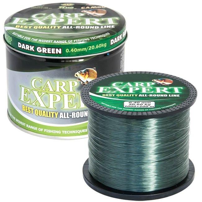 Najlon Carp Expert Dark Green 0,27-0,35mm 1200m