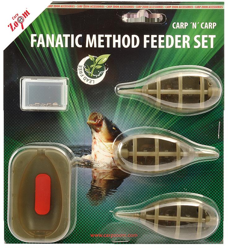 Set krmilnikov Fanatic Method Feeder Carp Zoom