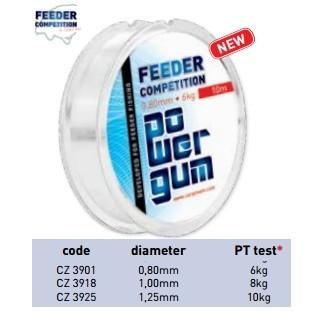 Carp Zoom Feeder Power Gum 0,80-1mm 10m