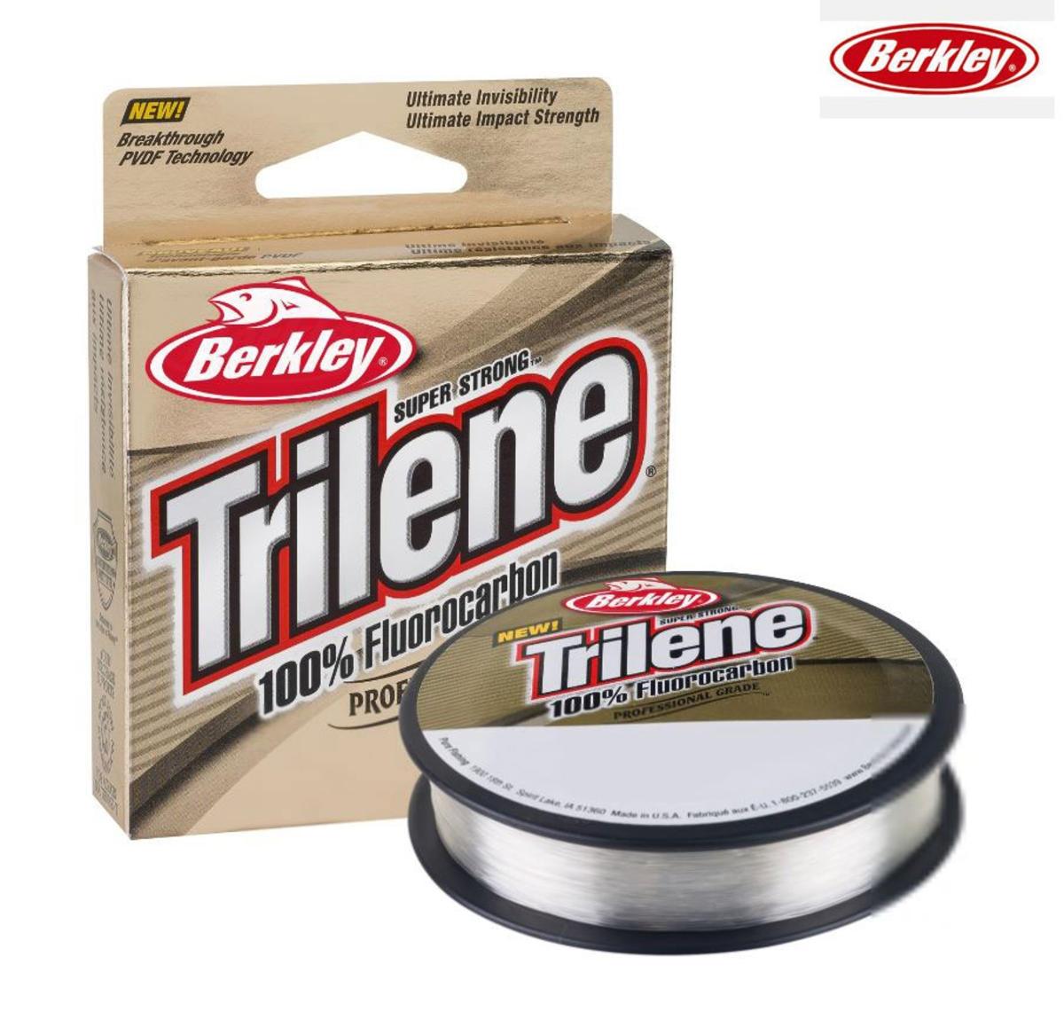 Najlon Berkley Trilene 100% Fluorocarbon 0,25-0,30mm 50m