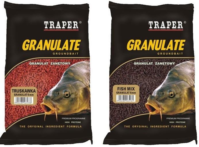 Peleti Traper Granulat 5mm 1kg- izbira okusa