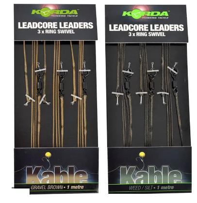 Korda Leadcore Leaders 3x Ring Swivel- izbira