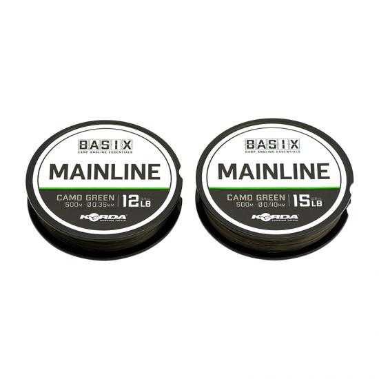 Najlon Korda Basix Main Line 0,35-0,40mm 500m
