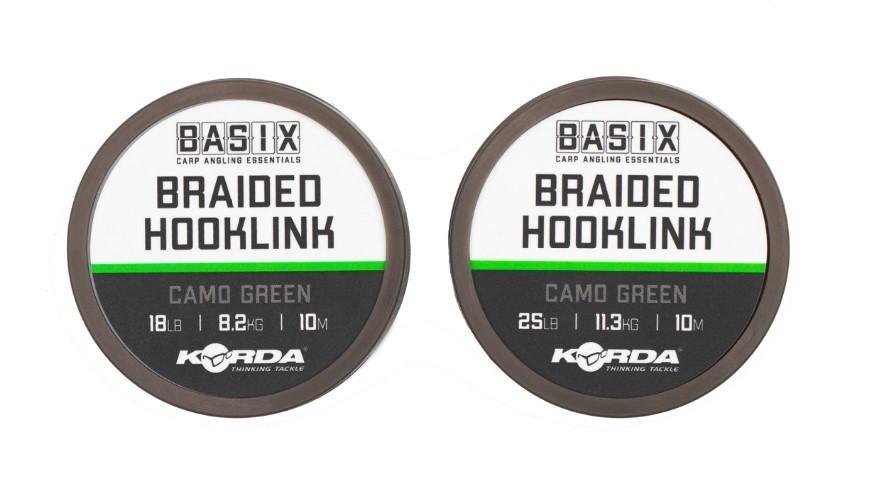 Vrvica Korda Basix Braided Hooklink 18-25lb 10m