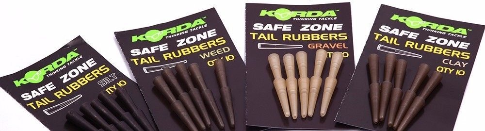 Korda Safe Zone Tail Rubbers- izbira barve