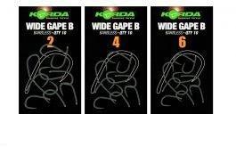 Trnki Korda Wide Gape B Barbless 4