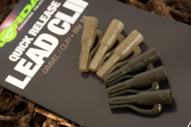 Korda Quick Release Lead Clip- weed/silt