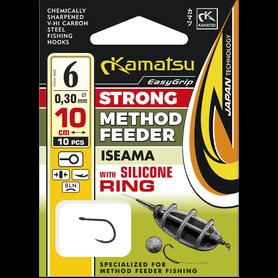 Navezani trnki Kamatsu Classic Method Feeder Silicone Ring 6-12