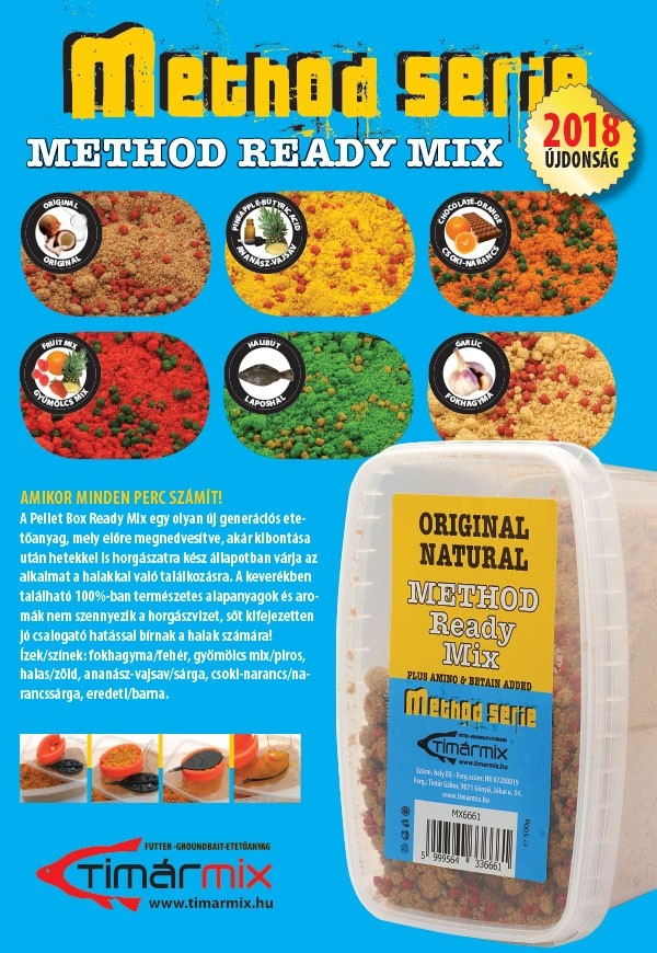 Timar Method Ready Mix 500g- izbira