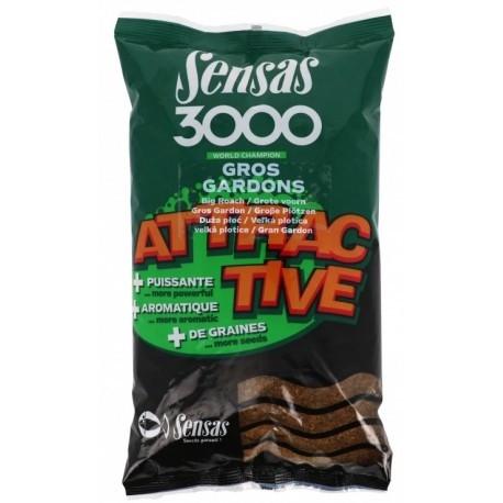 Hrana Sensas 3000 Gros Gardons Attractive 1kg