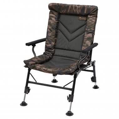 Stol Prologic Avenger Comfort Camo Chair w/Armrest & Covers