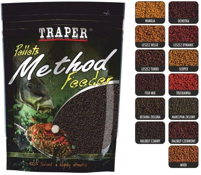 Peleti Traper Ready Soft Method Feeder 2mm 500g- izbira